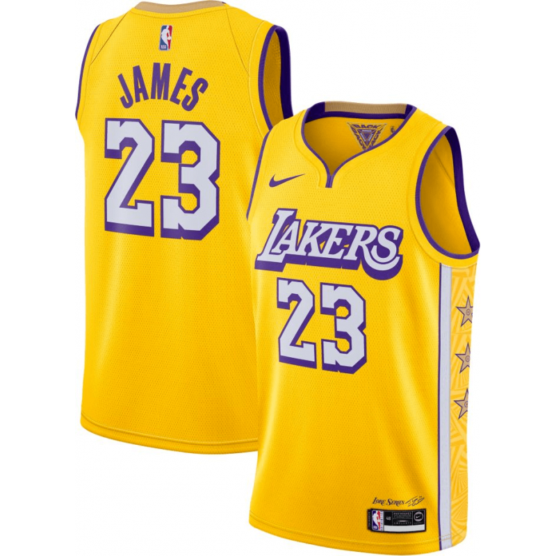 Maillot Los Angeles Lakers City Edition Swingman